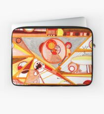 Economies of Scale, Ink drawing Laptop Sleeve