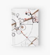 Watch City, Ink drawing Hardcover Journal