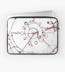 Watch City, Ink drawing Laptop Sleeve