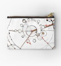 Watch City, Ink drawing Zipper Pouch