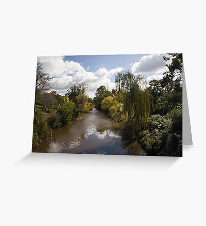 Bright, Victoria. Australia Greeting Card
