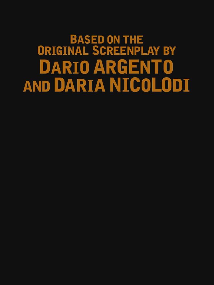 Suspiria (2018)   Based on the Original Screenplay by Dario Argento and Daria Nicolodi by directees