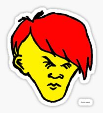 Youth (red hair yellow skin) Sticker