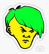 Youth(Green hair) Sticker