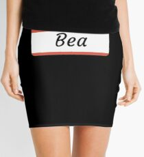 Bea -  Hello My Name Is Bea Funny Gift For Someone Named Bea Minirock