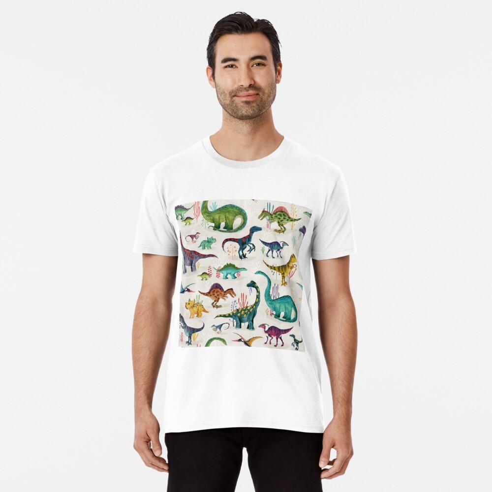Bright Dinosaurs Premium T-Shirt