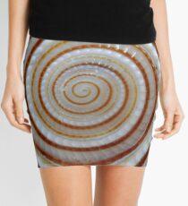 Spiral shell Mini Skirt