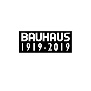 Bauhaus 100 Year Anniversary Sticker by MikePrittie