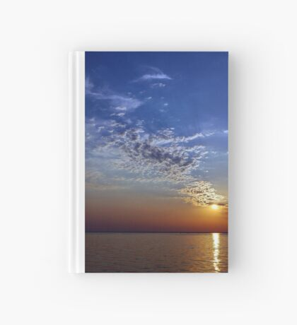 Serenity in the Sunset Hardcover Journal