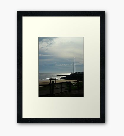 By The Beach Framed Print