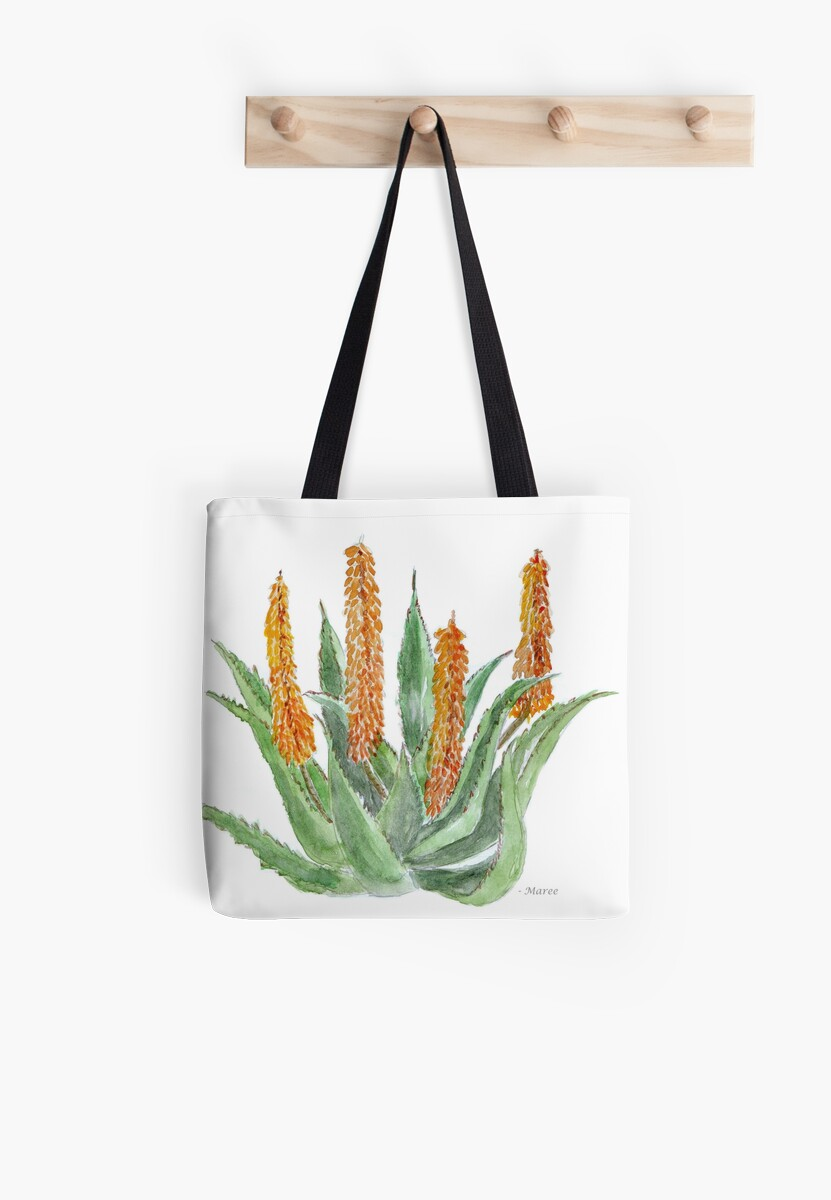 Aloe ferox sketch by Maree Clarkson