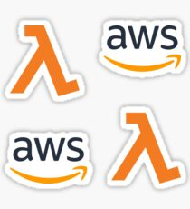 AWS Serverless Combo Pack Sticker