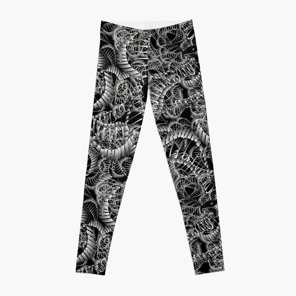 Cobra Snake Abstract Leggings