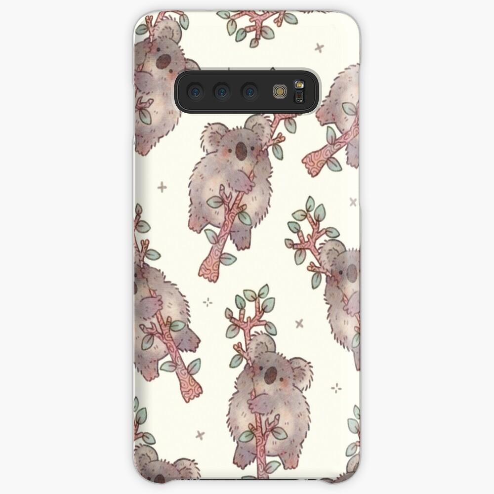 Chubby Koala on a Tree - Australian Wildlife Cases & Skins for Samsung Galaxy