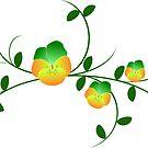 Stiefmütterchen Ranke, Veilchen, Blumen, Garten von rhnaturestyles