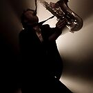 Sax in the City by Mark Elshout
