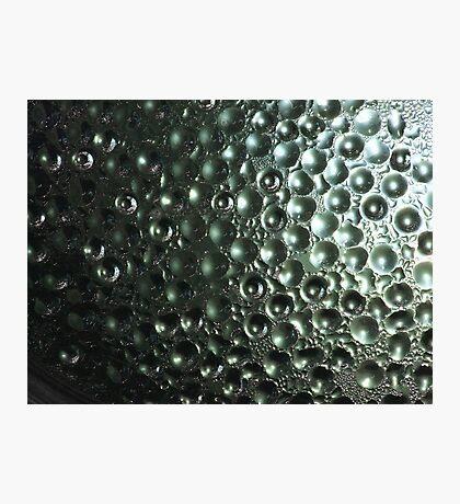 Condensation Bubbles Photographic Print