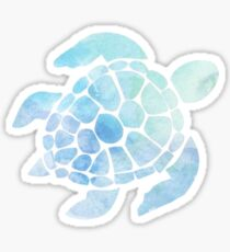 Watercolor Turtle Sticker