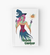 Green Corner Witch Hardcover Journal