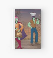 Red and the Woodsman Hardcover Journal