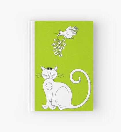 Love at Christmas to colour in Hardcover Journal