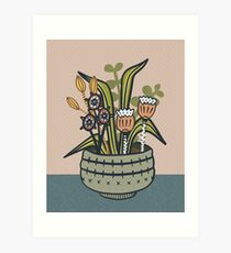 Cheeky Modern Botanical Art Print