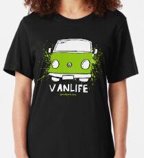 Camiseta ajustada Green Vanlife