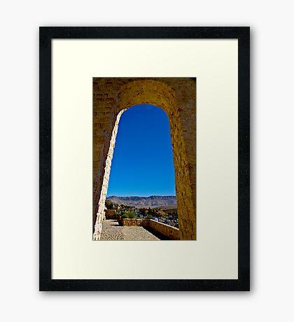 Entrance to Shiraz - Iran Framed Print