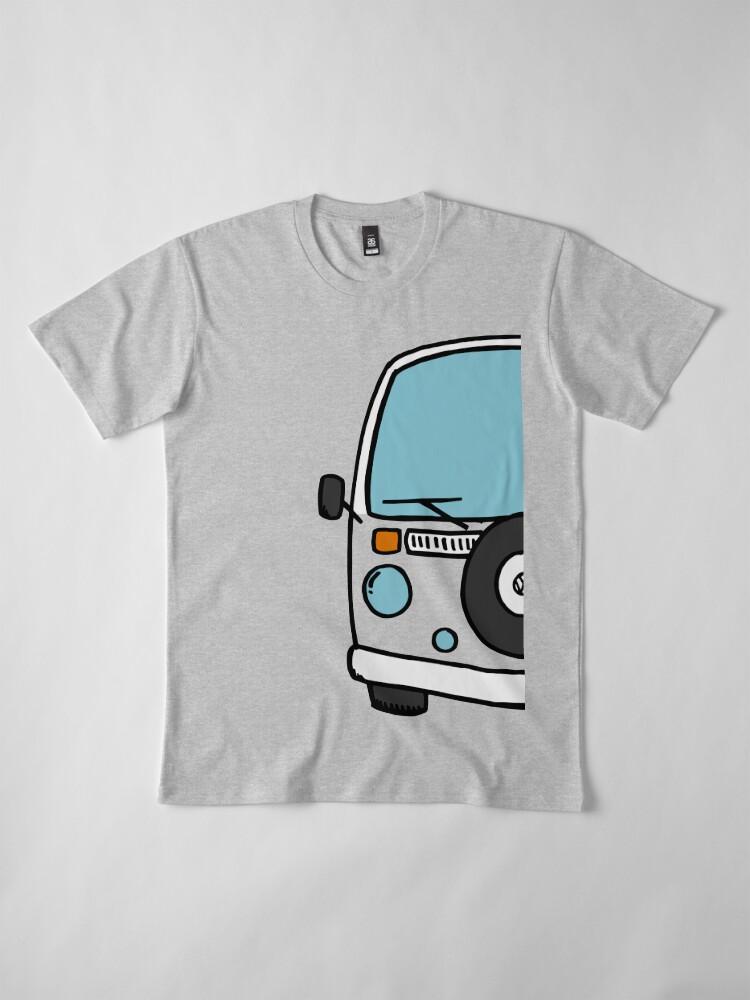 Vista alternativa de Camiseta premium Dream, Travel, Love