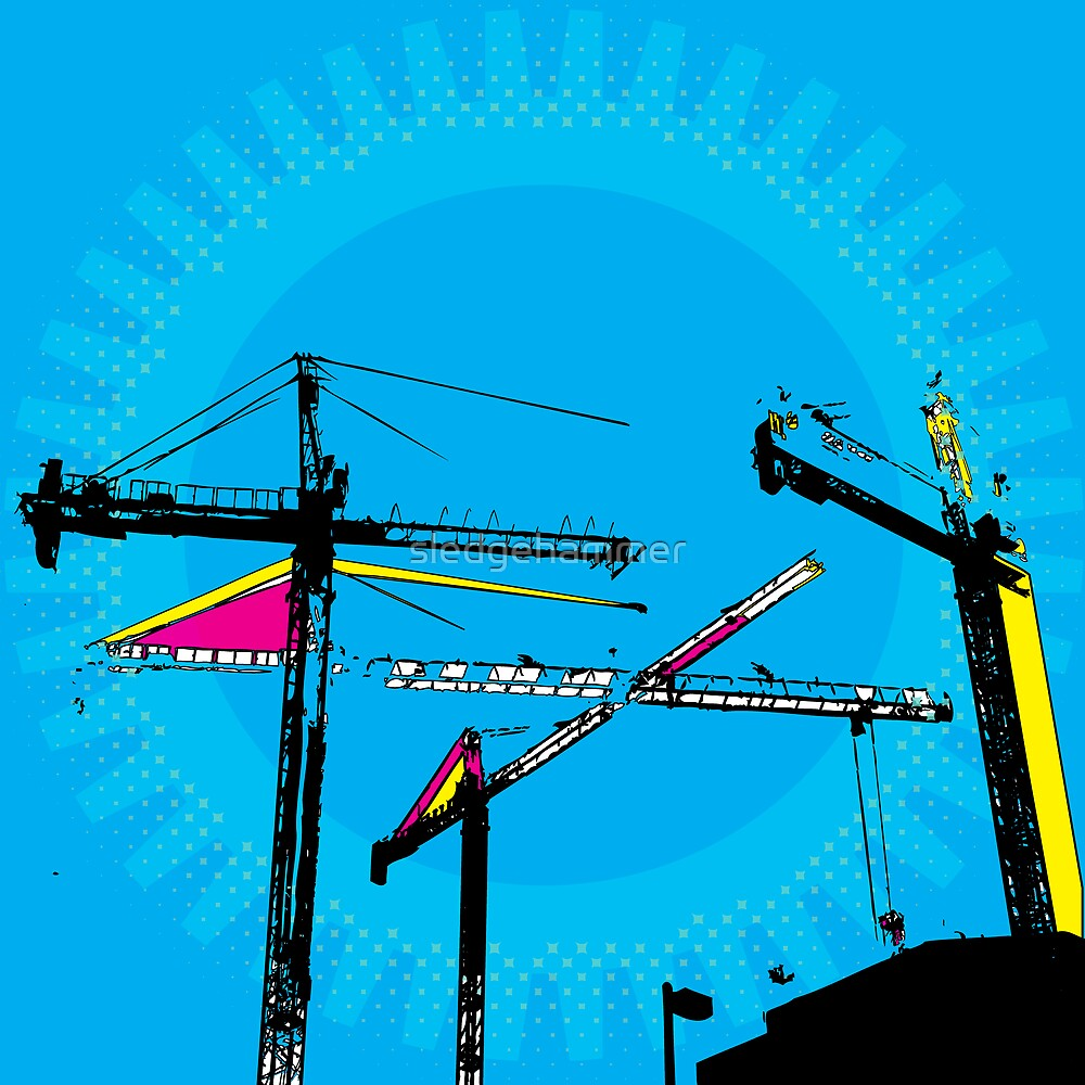 Pop-Art Construction illustration by sledgehammer