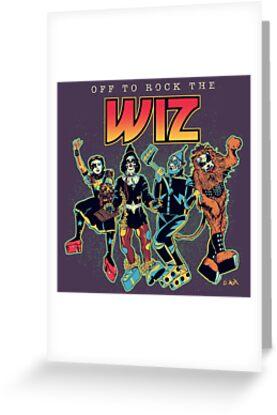 Off To Rock The Wiz by Donovan Alex