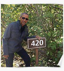 Obama 420 Poster