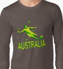 Australia Soccer 2010 Long Sleeve T-Shirt