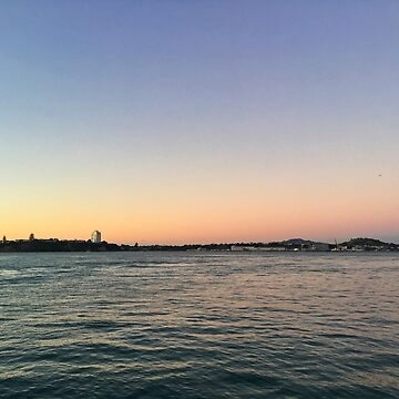 Auckland Harbour Sunrise Glow by urbanfragments