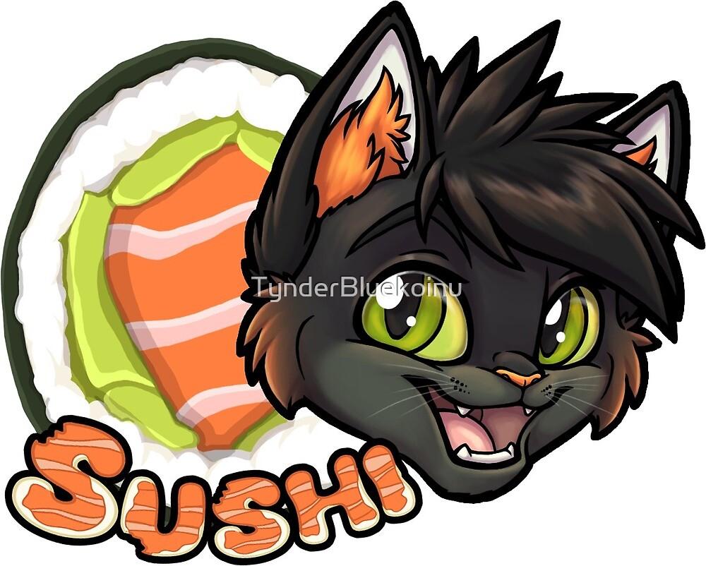 Sushi the Cat! by TynderBluekoinu