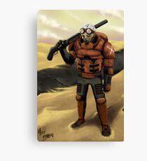 Commando Canvas Print