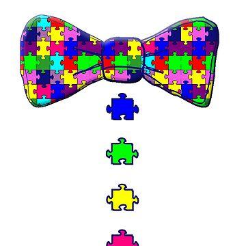Autism Awareness Bowtie by Greenbaby
