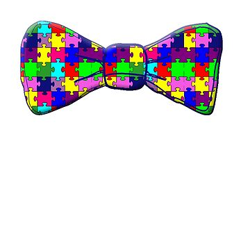 Copy of Autism Awareness Bowtie by Greenbaby
