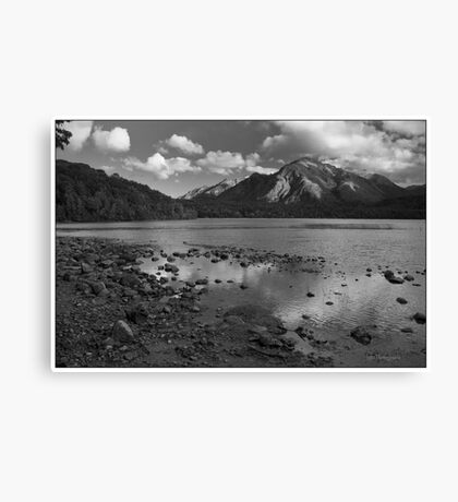 Land of Mistery Canvas Print