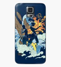 Funda/vinilo para Samsung Galaxy Dos avatares
