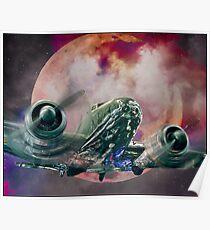 Fantasy Night Flight Poster