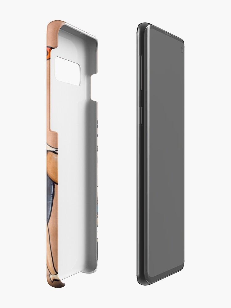 Alternate view of The Flintstones go Lowbrow Case & Skin for Samsung Galaxy