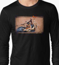 Camiseta de manga larga Los Flintstones van Lowbrow
