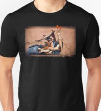The Flintstones go Lowbrow Slim Fit T-Shirt