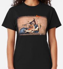 The Flintstones go Lowbrow Classic T-Shirt