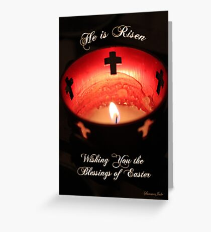 Easter ~ Cathedral of St. Augustine Greeting Card