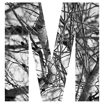 Tree letter M by PCollection
