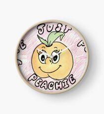 Just Peachy Clock