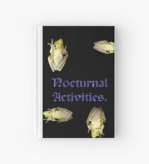 Nocturnal Activities. Hardcover Journal