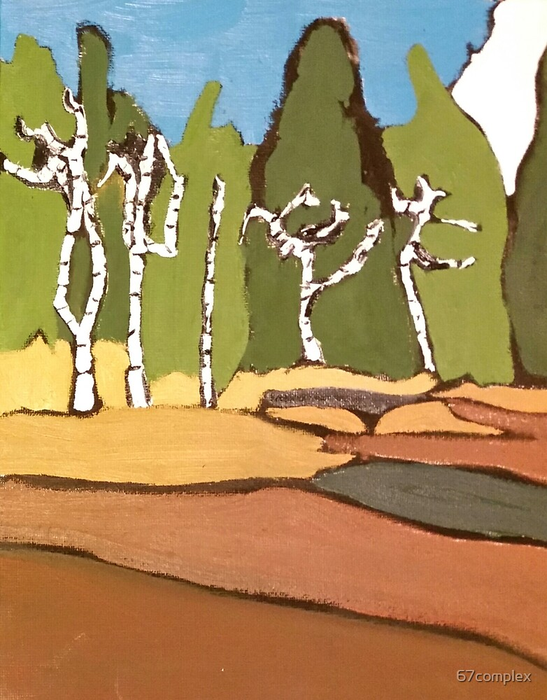 67Complex / Tonquin Trees by 67complex